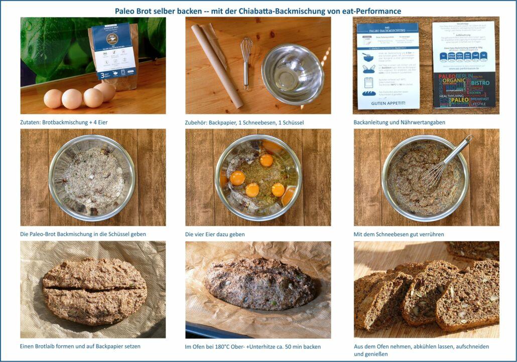 Tutorial Paleo-Brot selber backen