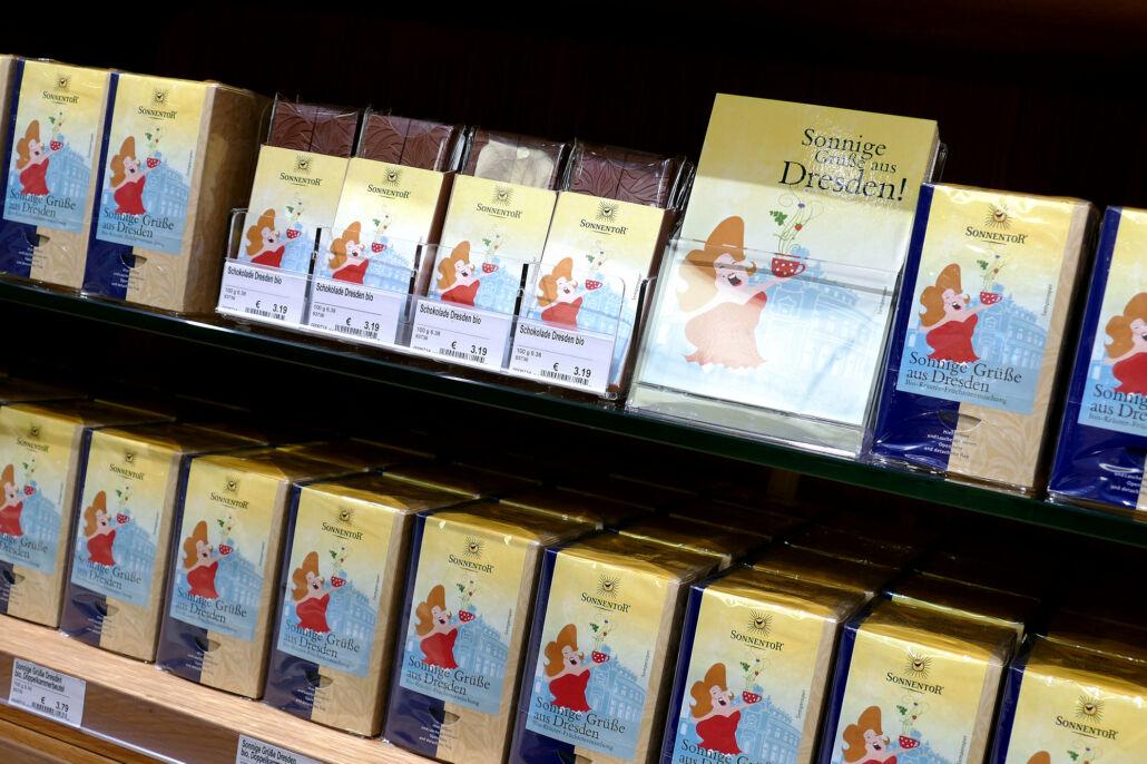 Sonnige Grüße aus Dresden Tee