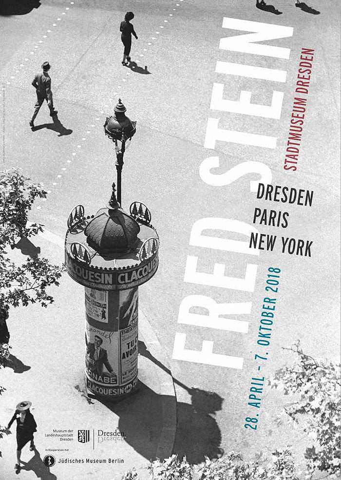 Ausstellungsplaket Fred Stein