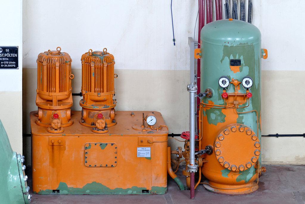 Detailaufnahme im Maschinenhaus