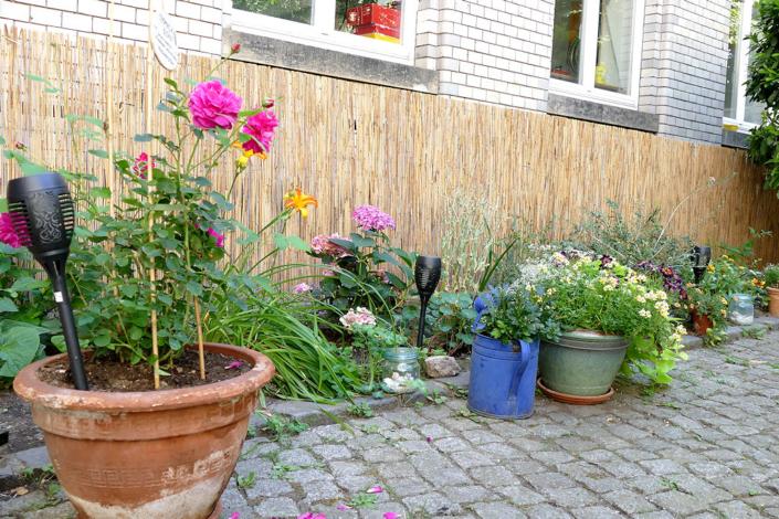 Liebevoll bepflanzt und gepflegt